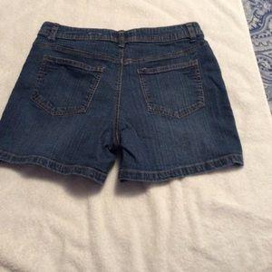 St. John's Bay Shorts - Misses Jean Shorts